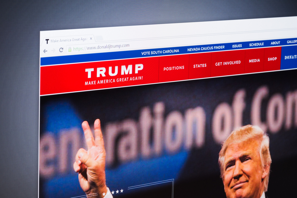 Donald Trump Website Leak
